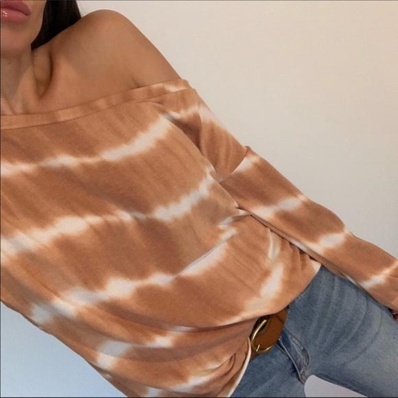 Reposh Danny Tye dye top - Vintage rust